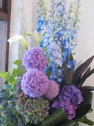 一周年」記念の花と試食 029.jpg